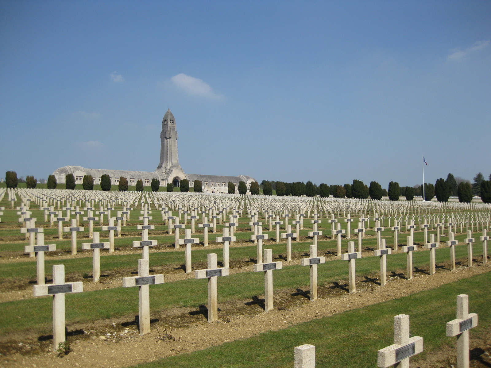 The douaumont ossuary