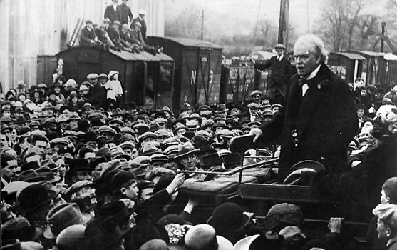 Prime minister david lloyd george speech treaty versailles