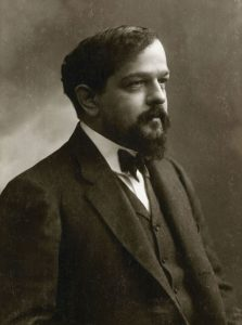 Claude Debussy is one of the twentieth centuries most famous composers. WikiCommons.